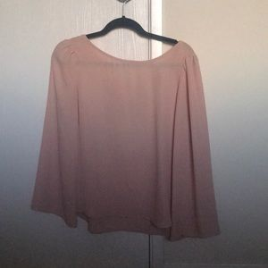 Tobi Light Pink Blouse